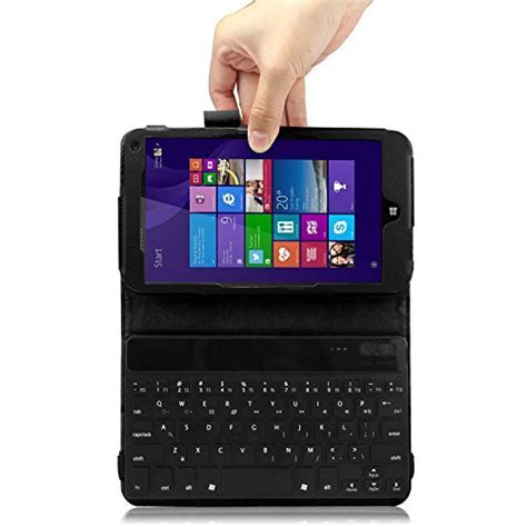 Infiland HP Stream 7 Tablet Bluetooth Keyboard Case Cover