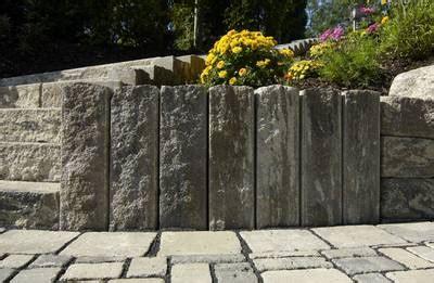 Palisaden Kann  Mischungsverhältnis Zement