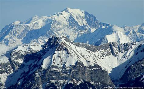 fond d 233 cran en 1440x900 du mont blanc vu du semnoz en haute savoie walpaper