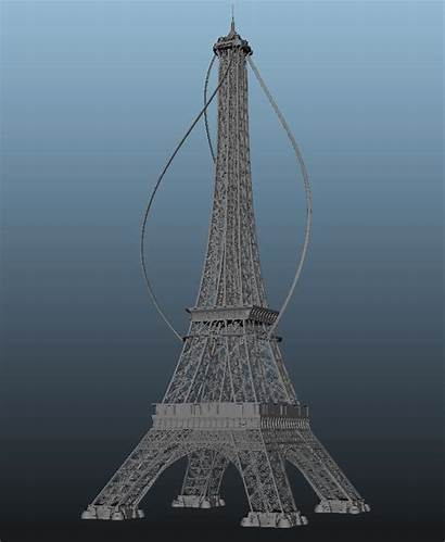 Tower Eiffel Famous Turn Moulin Energy Idea