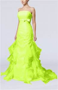 Neon green wedding dress Wedding Pinterest