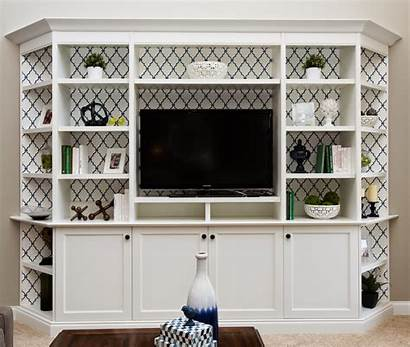 Built Bookcase Makeover Tips Navy Unit South
