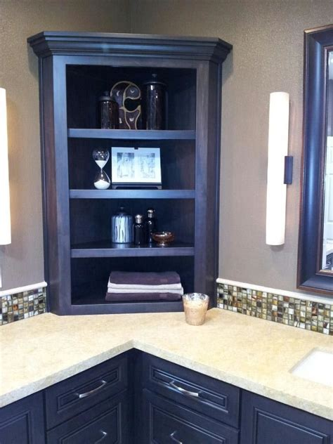 Smart Corner Storage Cabinet Types For Small Space Home
