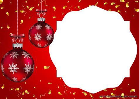 Holiday Party Invitation Template Free ~ Addictionary