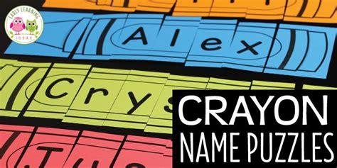 crayon  puzzles  images preschool activity