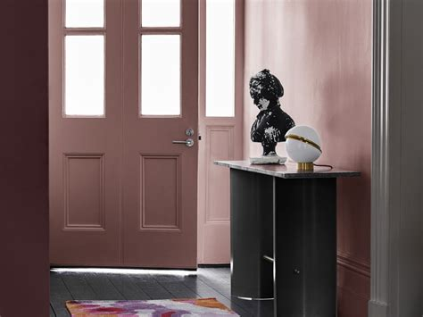 dulux  colour forecast reflect pink hallway