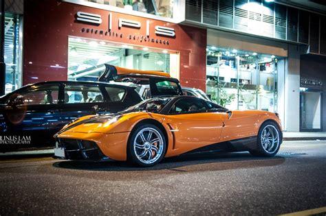 Second Orange Pagani Huayra Arrives in Hong Kong - GTspirit