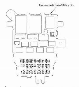 Acura Tl  2007 - 2008   U2013 Fuse Box Diagram