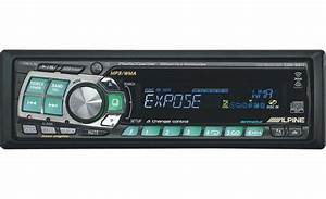 Alpine Cda Mp3  Wma Receiver With Cd Changer Controls At Crutchfield