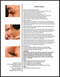 resume for licensed esthetician 1000 images about esthetician on and cover letters