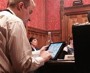 British MP caught playing game on iPad in parliament
