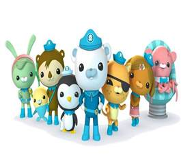 Birthday Octonauts Characters