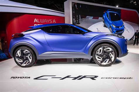 New Toyota C Hr Concept Hits The Stage In Paris Japanese