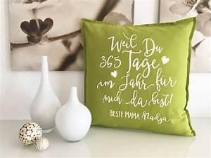 Originelle Geschenke Für Zwillinge : kissen geschenke f r m tter mit name originelle geschenkidee mama ~ Frokenaadalensverden.com Haus und Dekorationen