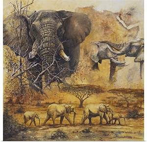 Poster Print Wall Art entitled Safari II