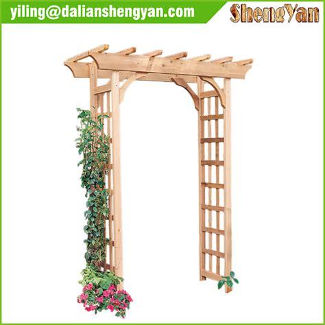 d 233 corative ext 233 rieure jardin arche en bois arches