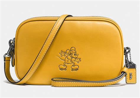 Coach Debuts New Collection With Disney, Featuring Mickey