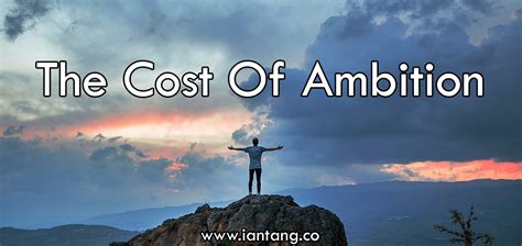 The Cost of Ambition - JoshStrength