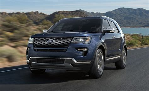 2020 Ford Explorer St Rumored With Around 400 Hp
