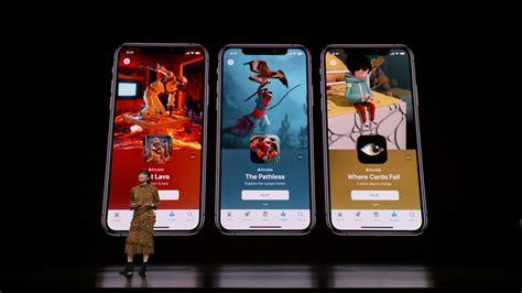 apple arcade iphone maker takes  google stadia sort