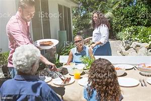 Family Barbecue Stock Photo - Download Image Now - iStock