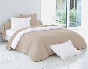 Linge De Lit Lin : linge de lit en coton ou en lin le comptoir web ~ Teatrodelosmanantiales.com Idées de Décoration