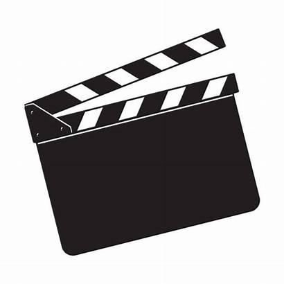 Cinema Clapper Board Clipart Clapboard Clap Blank