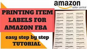 how to do labels for amazon fba easy way print labels With easiest way to print labels