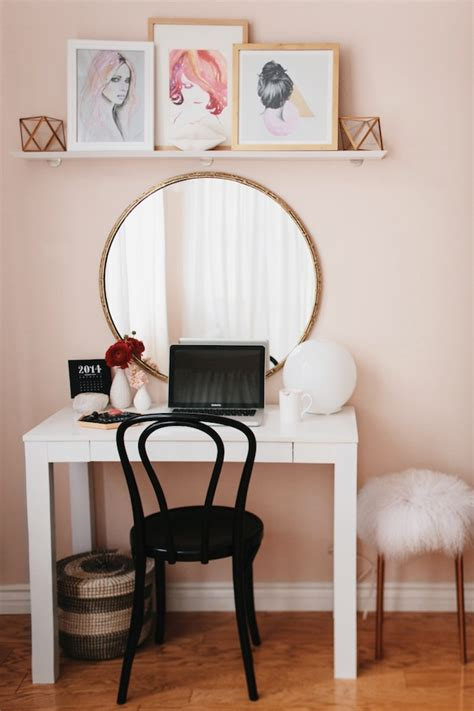 vanity and work desk combo fiore service luxury agency for