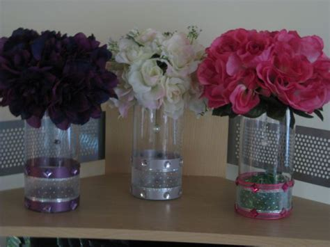 diamonds flowers candles and color oh my wedding