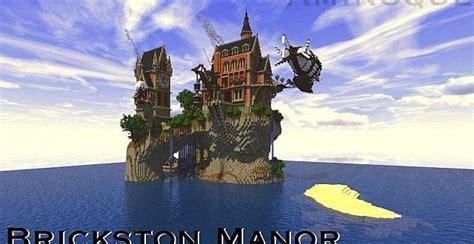 brickston manor minecraft house design