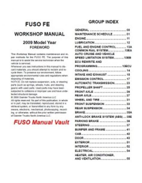 Mitsubishi Fuso Truck Usa Service Manual