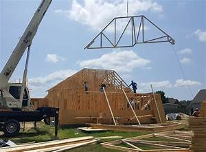 Roof trusses anderson truss company for 40 foot trusses