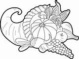 Cornucopia Coloring Pages Printable Thanksgiving Fall Printables Sheets Template Adult Empty Mpmschoolsupplies Pattern Sketch Supplyme Books Getcoloringpages Grande sketch template