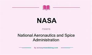 NASA Abbreviation Meaning (page 2) - Pics about space