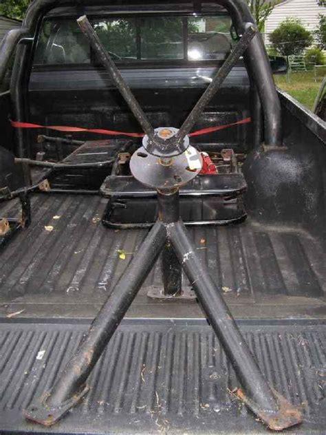 Truck Bed Spare Tire Carrier by Truck Bed Spare Tire Mount Yotatech Forums