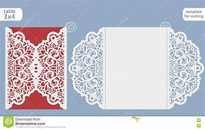 laser cut wedding invitation card template cut out the With wedding invitation jacket templates