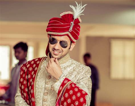 Wedding Accessories For Indian Groom : A Small List Of Must Haves In An Indian Grooms Wedding Dress