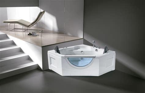 Whirlpool Massage Function Cheap 2 Person Corner Bathtub