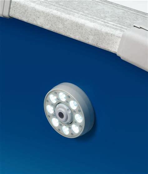 above ground led thru wall swimming pool light