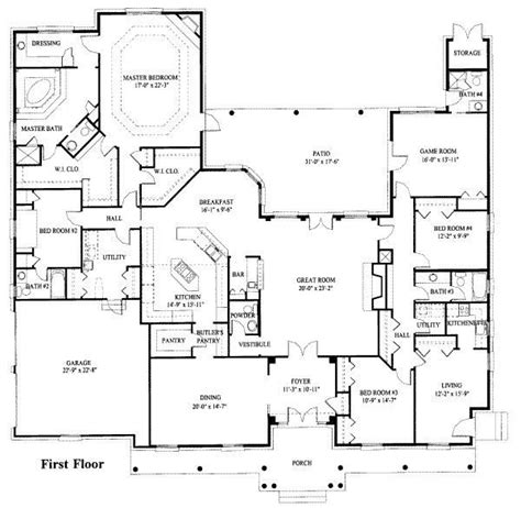 beautiful ranch style house plans  inlaw suite  home plans design