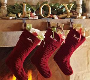 joy stocking holder gold gilt finish pottery barn With gold letter stocking holders