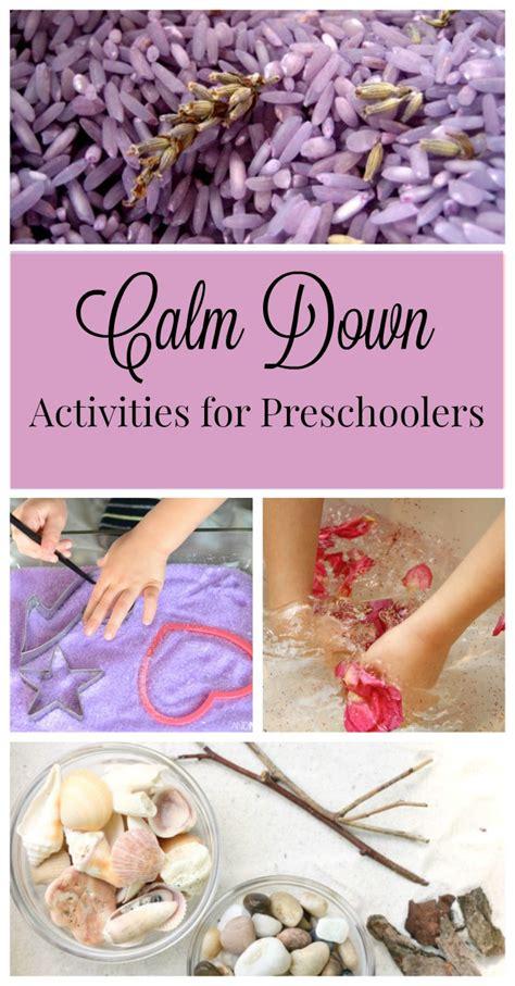 calming activities  preschoolers  wee learn