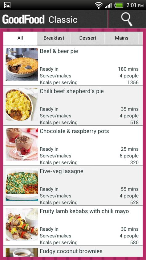 application cuisine android releases food recipe app for android packs