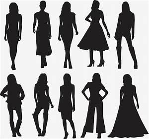 Fashion silhouette, Fashion Ladies, Woman Figure ...