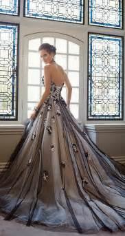 tolli bridal 35 black white wedding dresses with edgy elegance