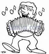 Accordion Drawing Pages Accordian Coloring Music Drawings Getdrawings sketch template