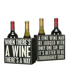 Funny Sayings About Wine Box