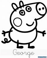 Peppa Pig Coloring Pages sketch template