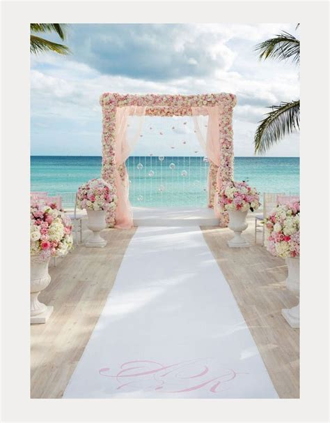 wedding inspiration aisles arches ceremony backdrops